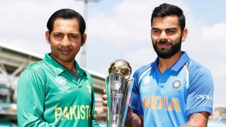 ચેમ્પિયન્સ ટ્રોફી : આજે ભારત પાક. વચ્ચે હાઇવોલ્ટેજ ફાઇનલ.